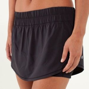 Lululemon | Run Breeze By Black Skirt